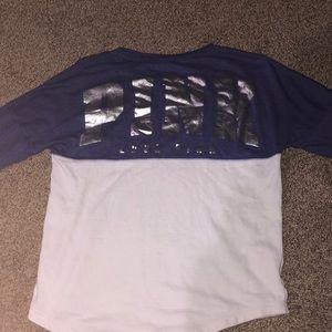 Girls PINK shirts and Hollister shirt.